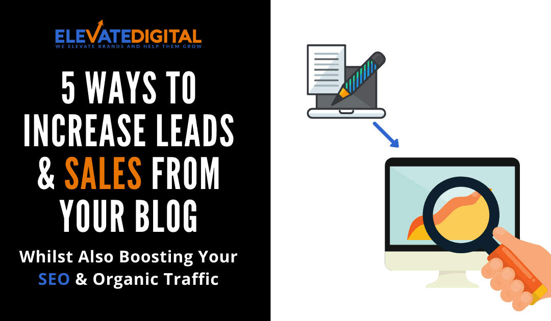 5 Proven Strategies To Increase Sales From Your Blog