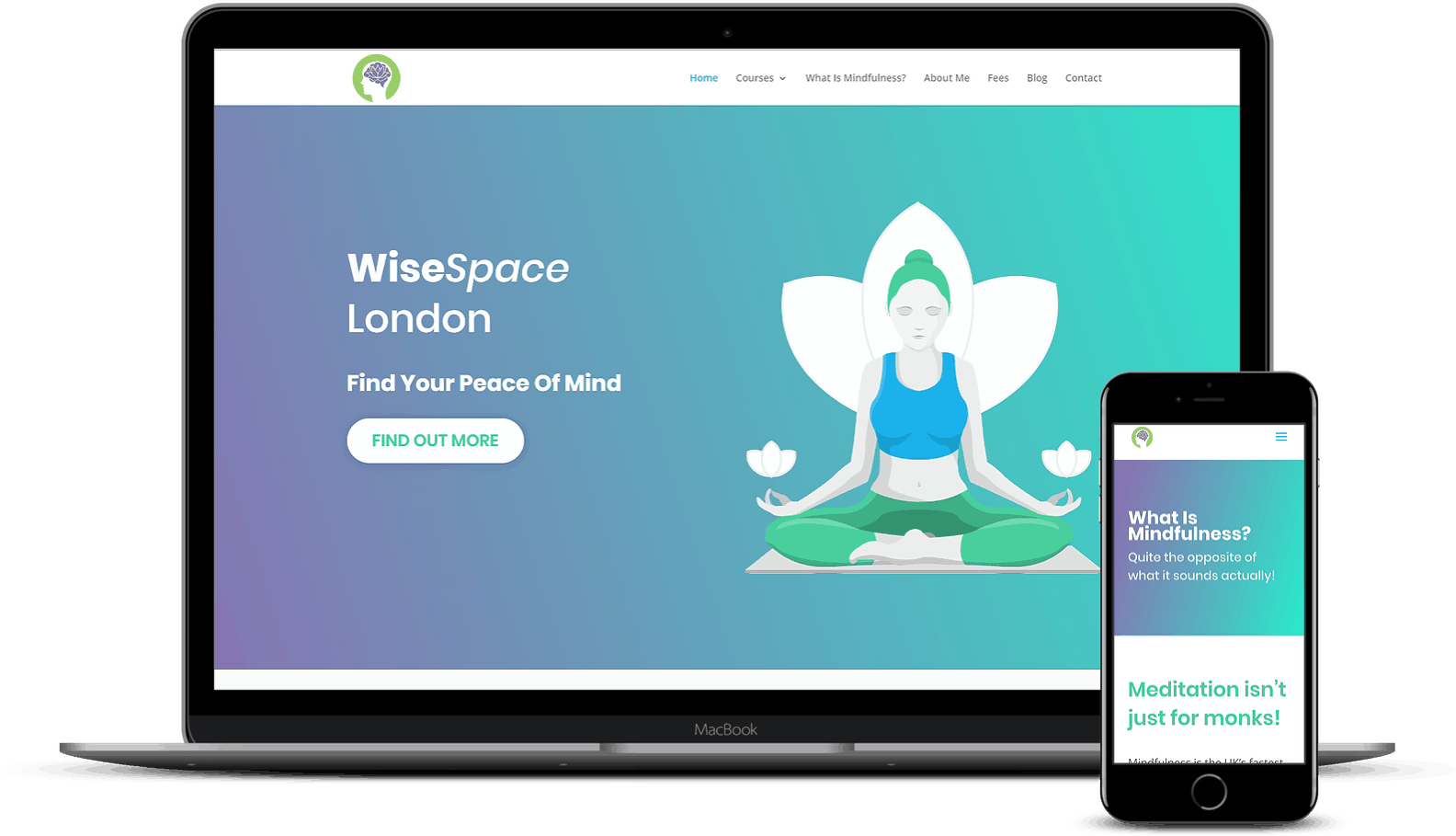 Elevate Digital Website Development Mockup - WiseSpace London