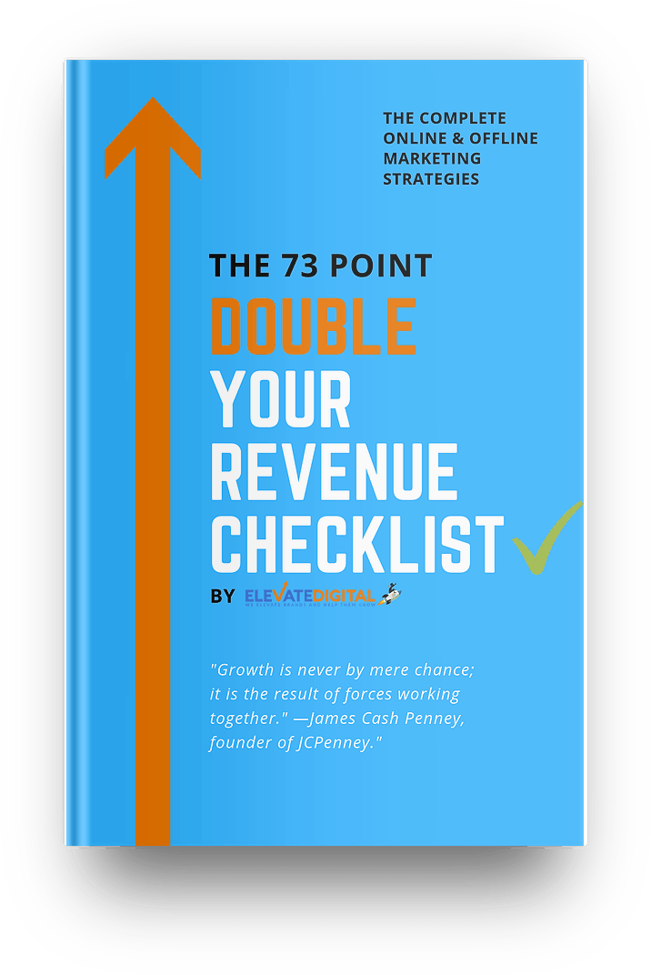 Elevate Digital Double Your Revenue Checklist Guide