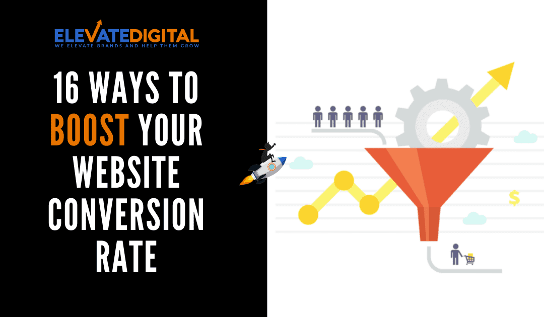 16 Easy Ways To Increase Your Website Conversion Rate