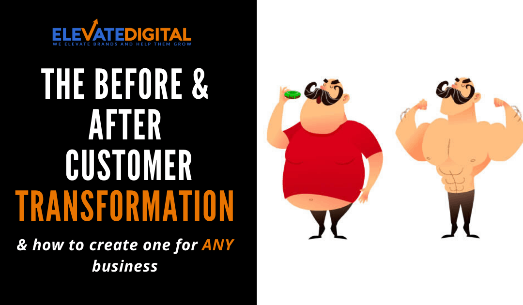 Before & After Transformation - Elevate Digital