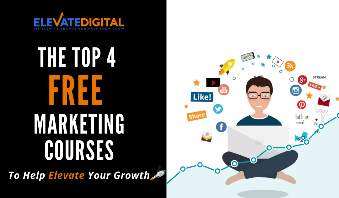 Top 4 FREE Digital Marketing Courses In 2020