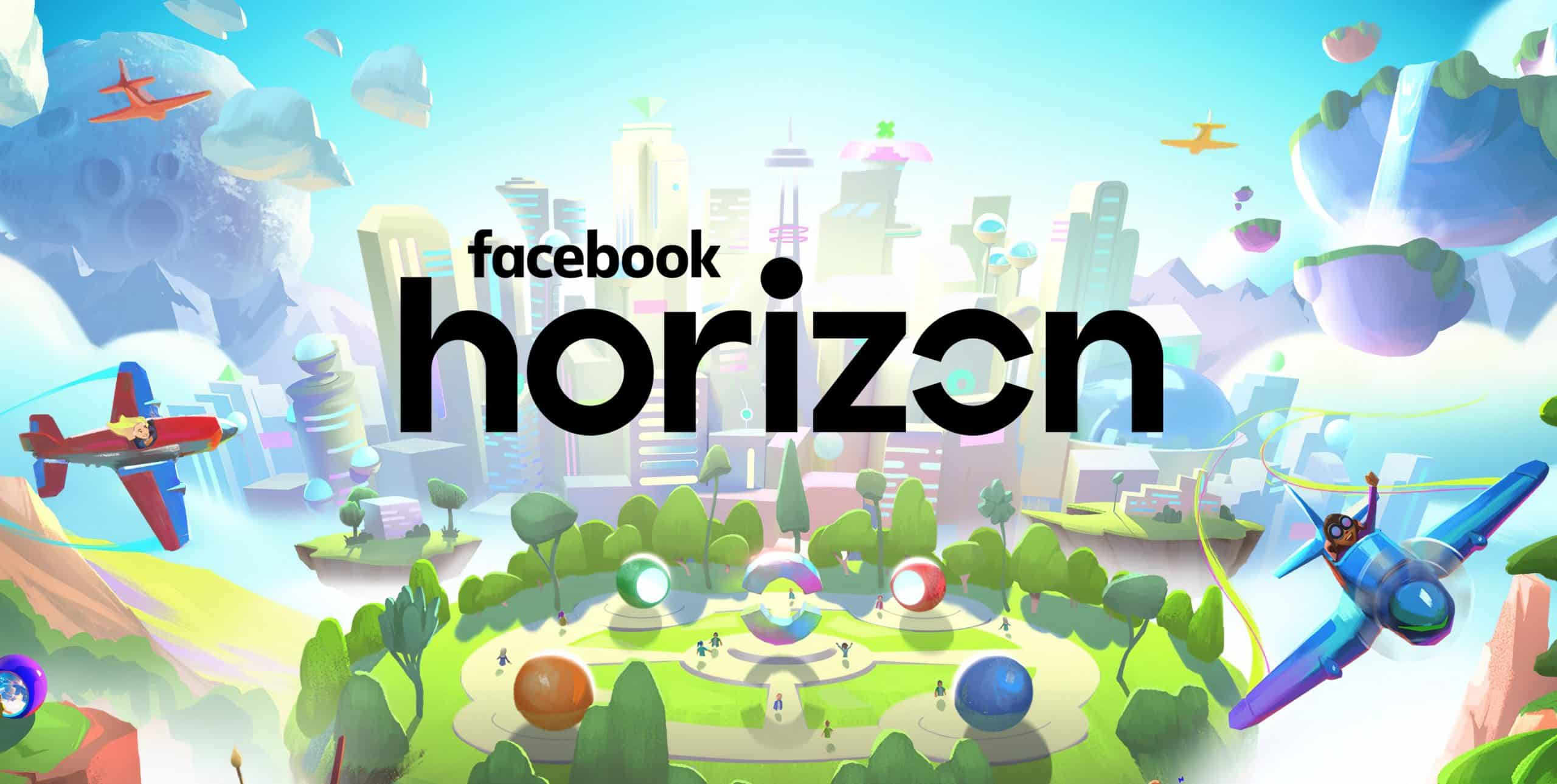 Image of Facebook Horizon as an online world which will have a heavy emphasis on creating virtual groups and communities