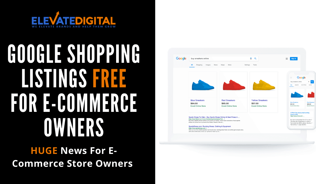 E-Commerce Stores Can Now Sell On Google FREE