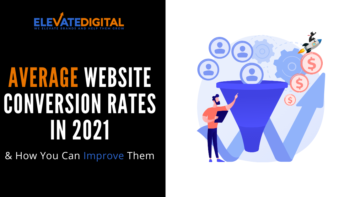 Average Website Conversion Rates In 2021